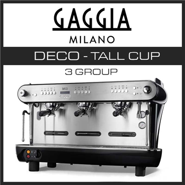 GAGGIA DECO 3 GROUP TALL CUP
